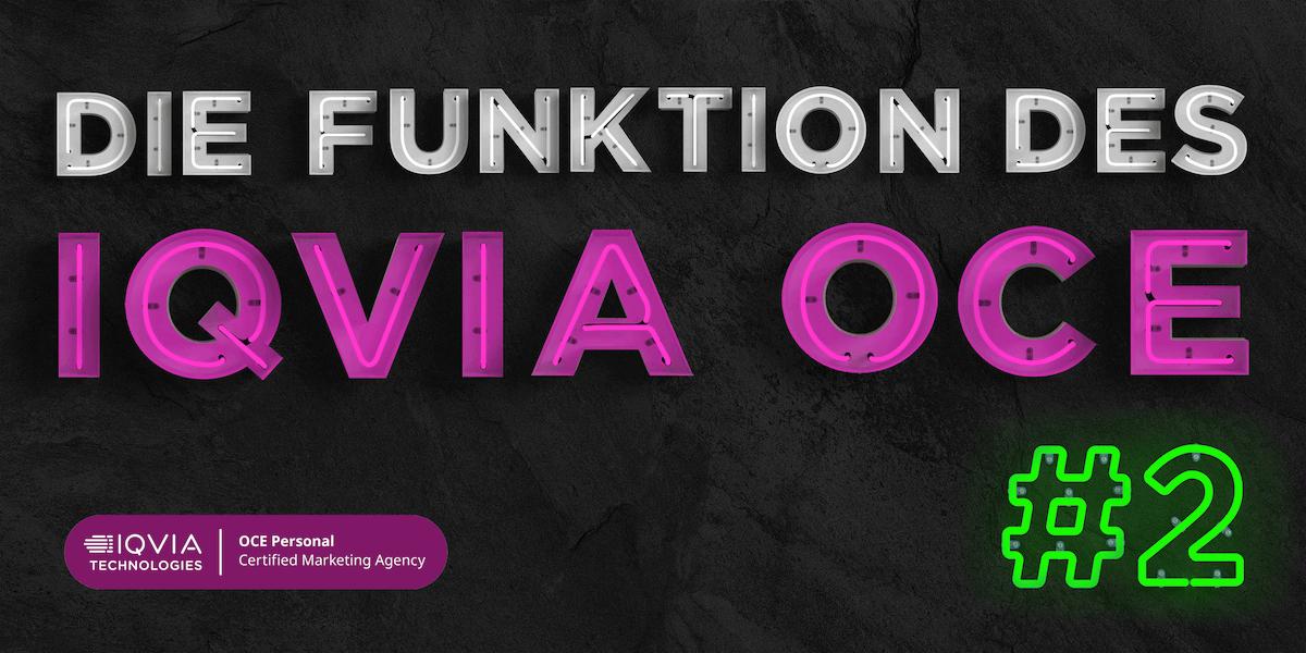 Funktionen IQVIA OCE