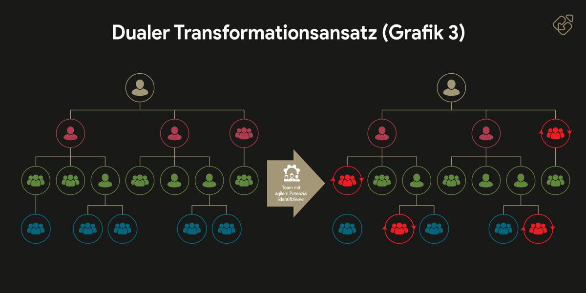 Führung der Zukunft - Dualer Transformationsansatz